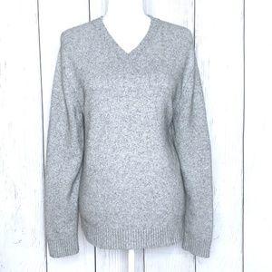 Banana Republic Luxury Blend Gray Sweater